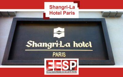 Visite du Shangri-La Hotel Paris avec les Promotions 26 et 27