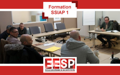 Formation SSIAP 1 mars 2019