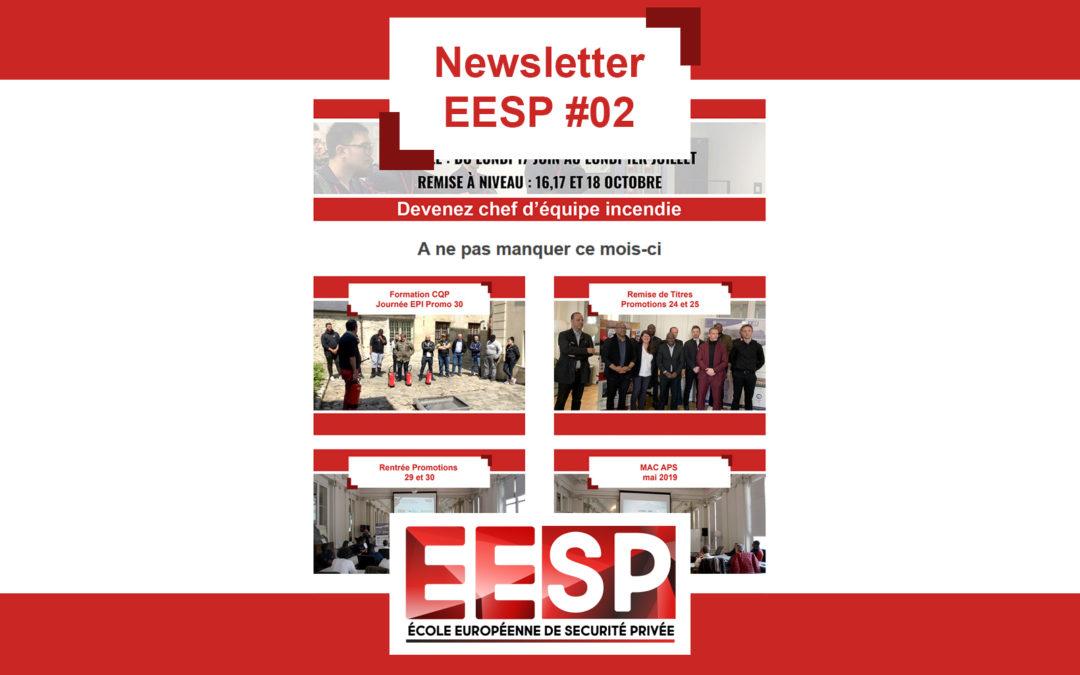 Newsletter EESP #02 mai 2019