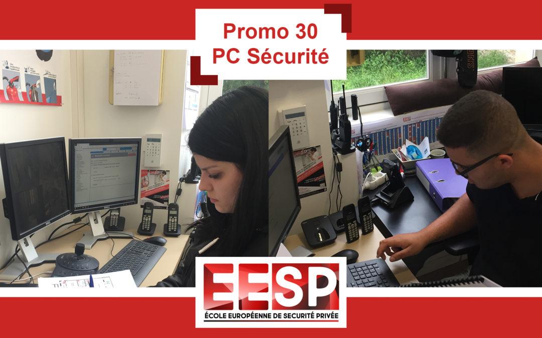 Promo 30 – PC Sécurité