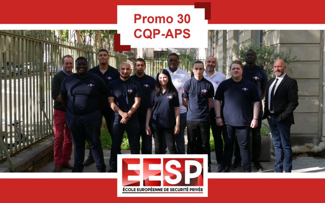 Promo 30 – Examen CQP-APS