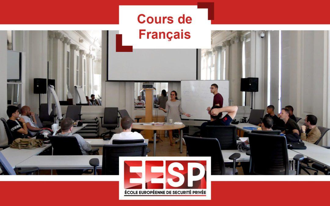 Promo 28 – Cours de Français
