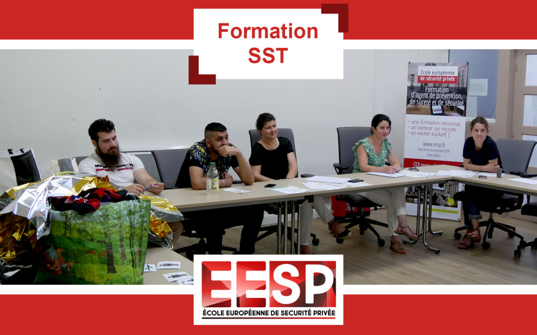 Formation SST – Groupe EEIE