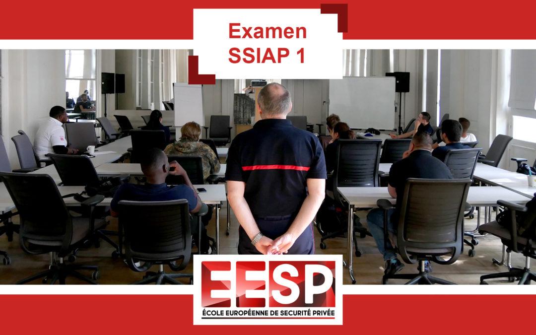 Examen SSIAP 1 – Promo 30