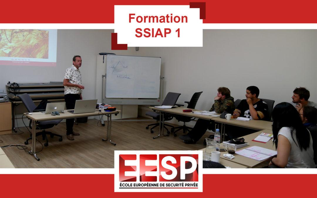 Formation SSIAP 1 – Juillet 2019