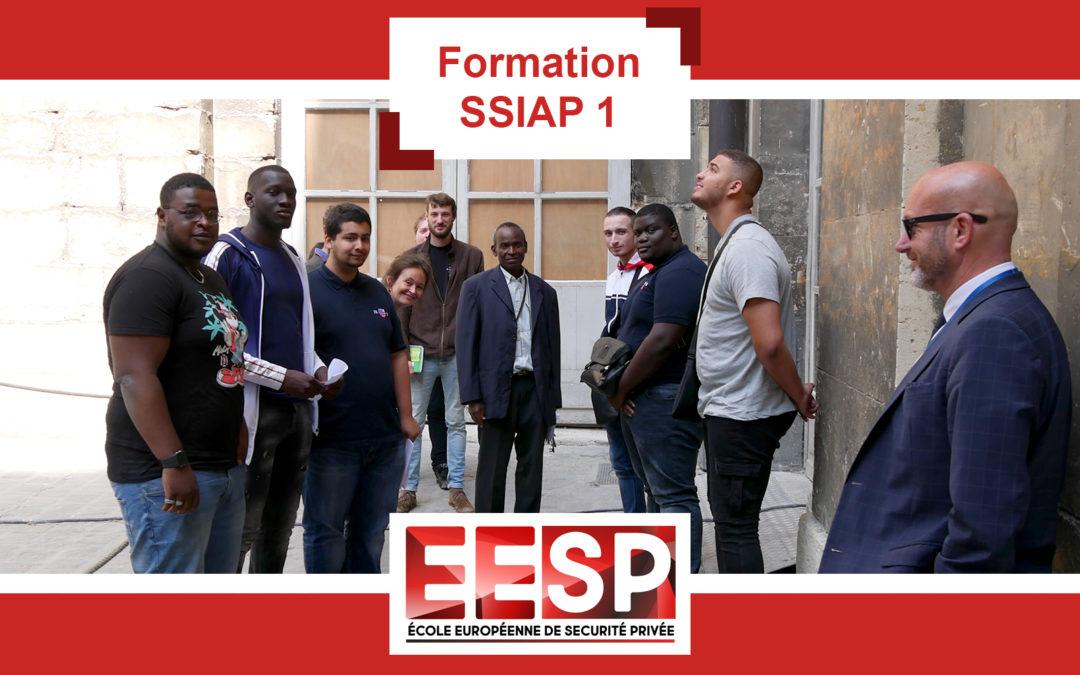 Formation SSIAP 1 – Visite du château