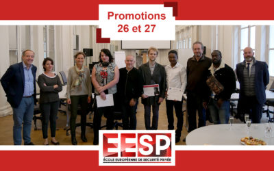 Remise du titre – Promotion 26 et 27